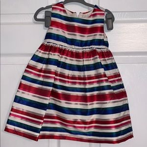 Red White and Blue Dress with Back Bow Detail